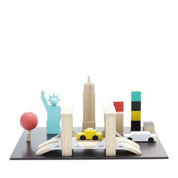 kiko+ & gg* Machi Tiny Town - New York - Picture Play - The Modern Playroom