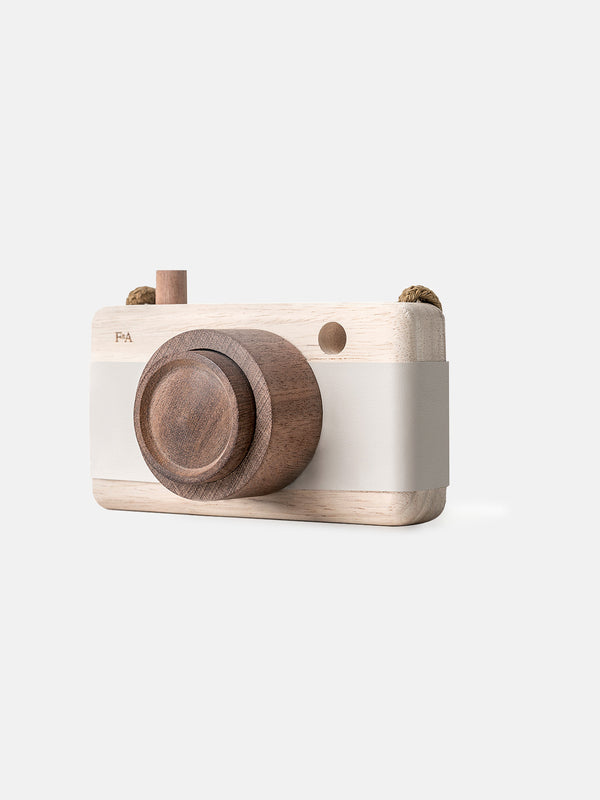 Wooden Camera Grey Lilacs