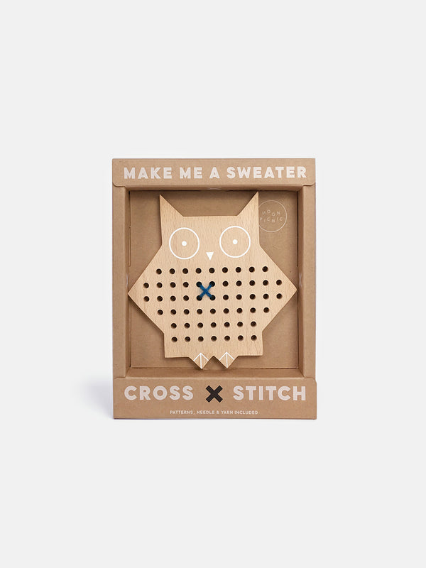 Cross Stitch Friends - Owl