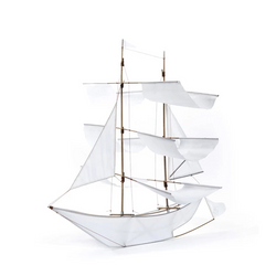 Haptic Lab Sail Ship Kite - White - Nature Play - The Modern Playroom
