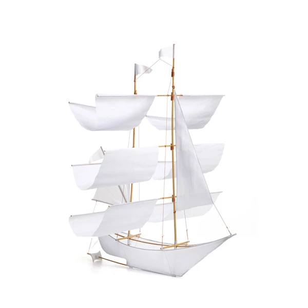 Sail Ship Kite - White