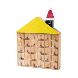 kiko+ & gg* Apartment 31 – Wooden House Advent Calendar - Picture Play - The Modern Playroom