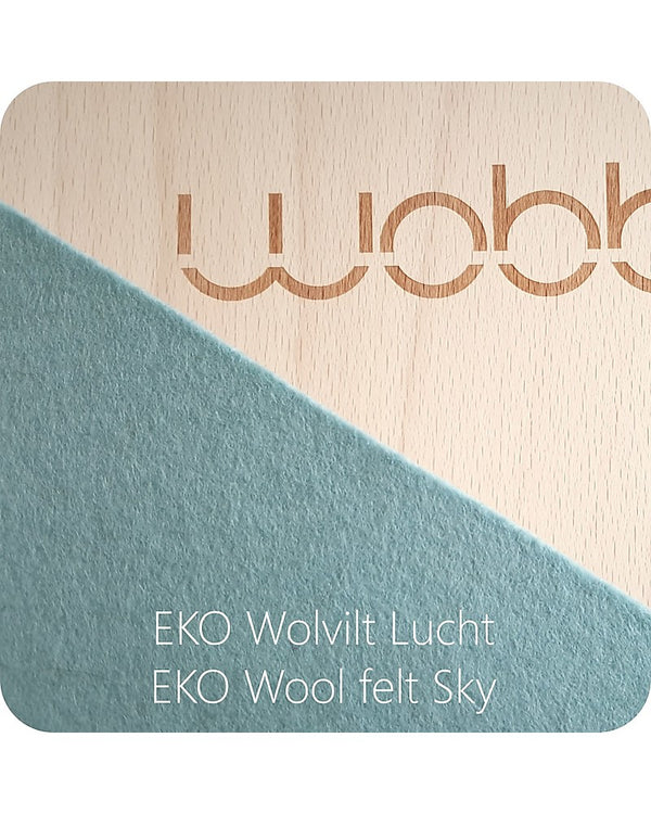 Wobbel Board Pro with Sky Blue Felt