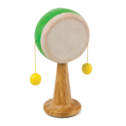 Green Tones Spinning Drum - Music Play - The Modern Playroom