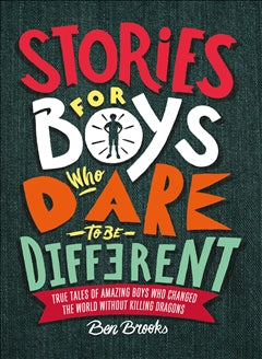 Books Stories For Boys Who Dare To Be Different - Word Play - The Modern Playroom