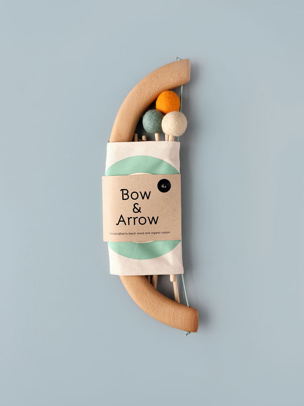 Bow and Arrow Set - Green