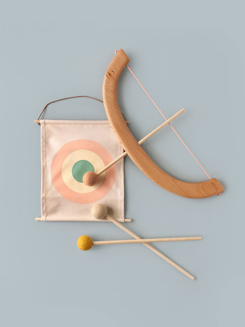 Bow and Arrow Set - Peach