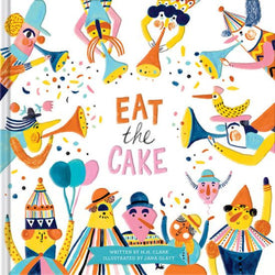 Books Eat The Cake - Word Play - The Modern Playroom