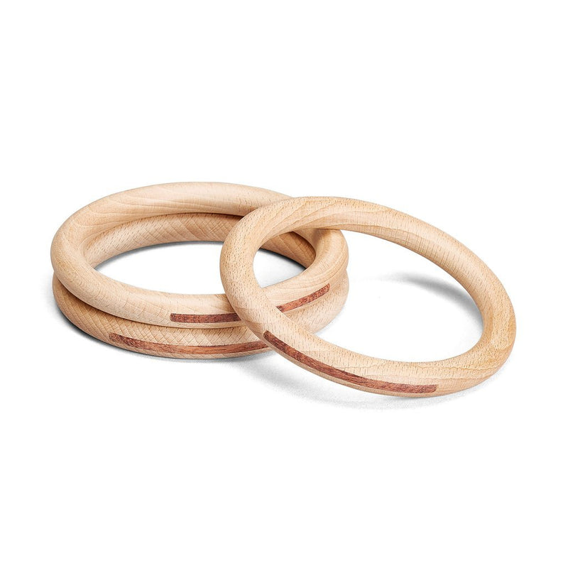 Natural Hoops Large