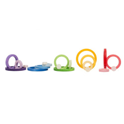 Joguines Grapat Nest Rings - Number Play - The Modern Playroom