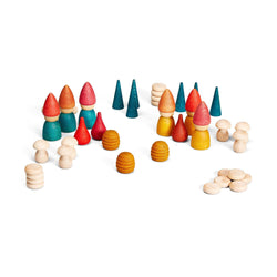 Joguines Grapat Nins Tomtens Set - Number Play - The Modern Playroom