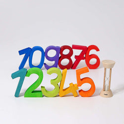 Grimms Building Set Numbers - Number Play - The Modern Playroom