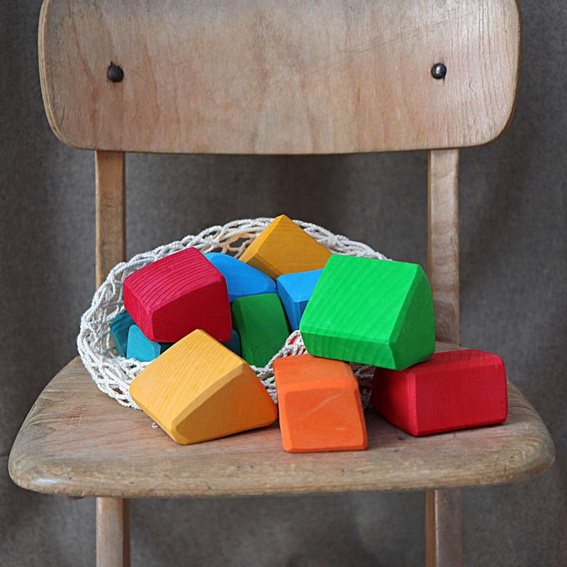 Coloured Waldorf Blocks