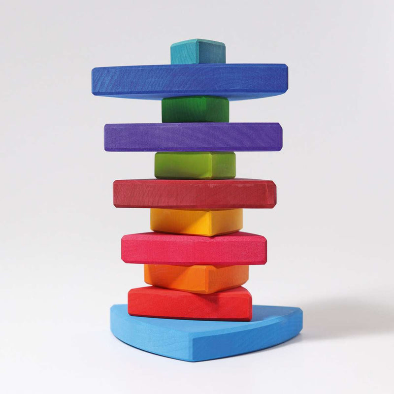 Triangular Stacking Tower