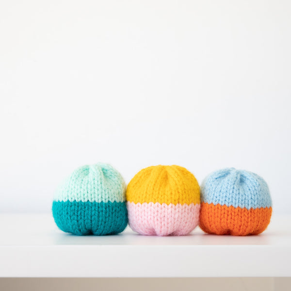 Hand-Knitted Hacky Sack