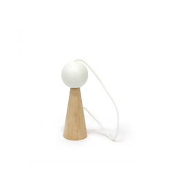 Nobodinoz White Biliboquet - Action Play - The Modern Playroom