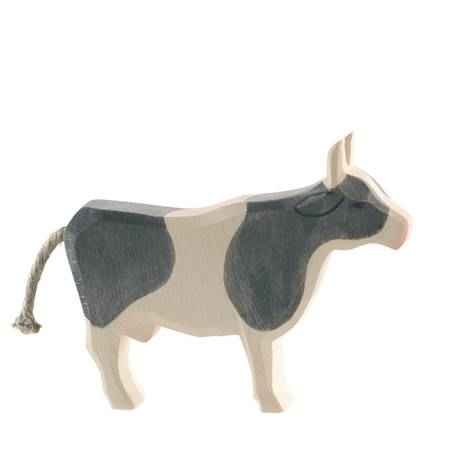 Cow Black Standing