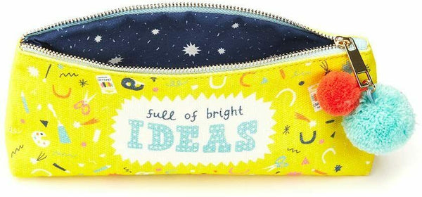 Full of bright ideas Pencil Case