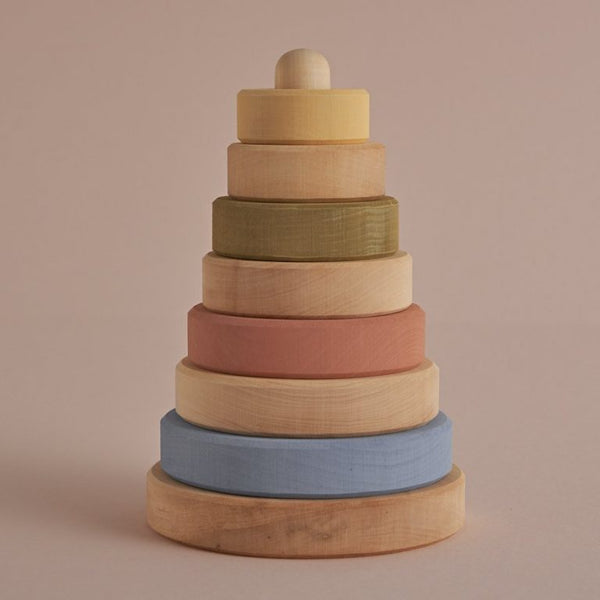 Pastel + Natural Stacking Tower