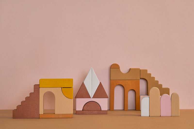 Apartment Building Blocks Set