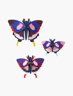 Studio Roof Swallowtail Butterflies, set of 3 - Picture Play - The Modern Playroom