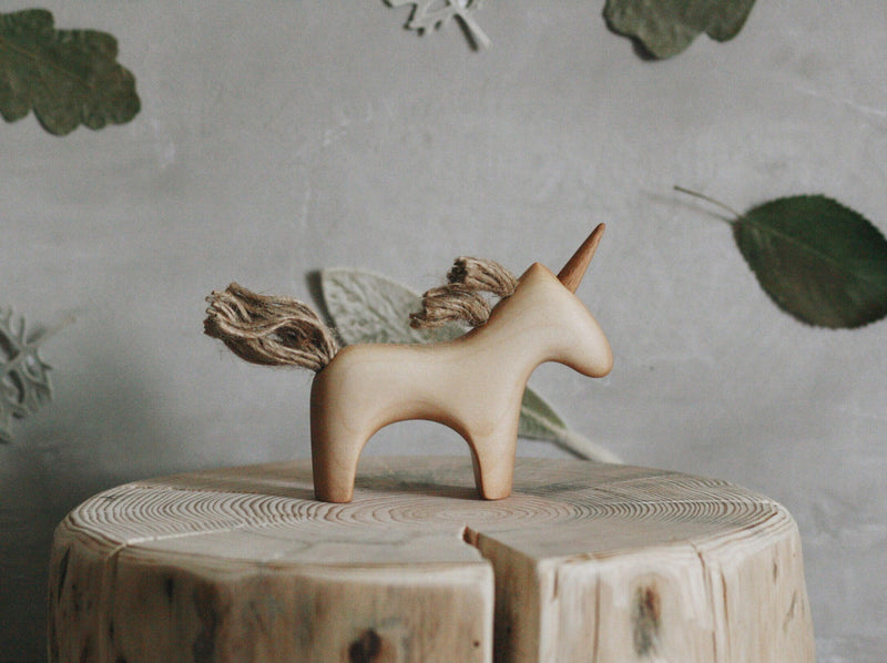 Wooden Unicorn