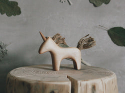 Tateplota Wooden Unicorn -  - The Modern Playroom