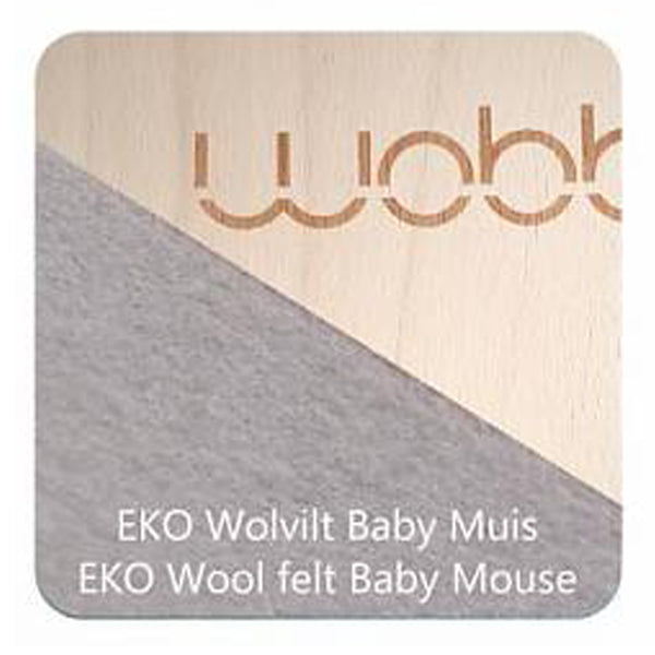 Wobbel Board Original with Baby Mouse Felt