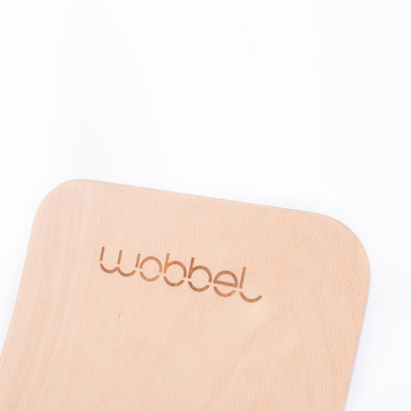 Wobbel Wobbel Board Original Transparent Lacquer - Action Play - The Modern Playroom