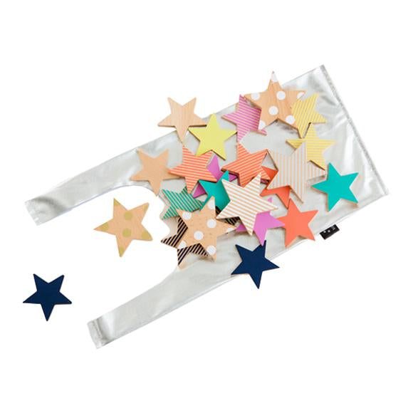 Tanabata Wooden Star Cookies