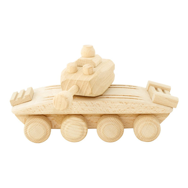 Wooden Army Tank
