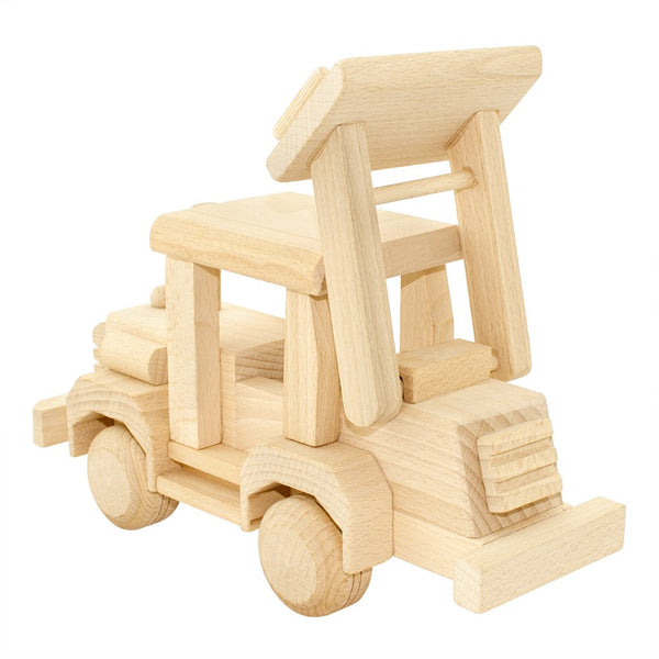 Wooden Bulldozer