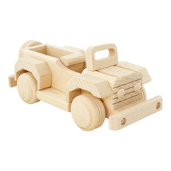 Bartu Wooden Jeep -  - The Modern Playroom