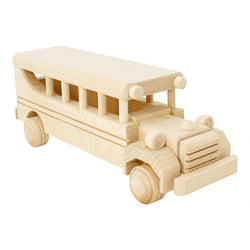 Bartu Wooden Vintage Bus -  - The Modern Playroom