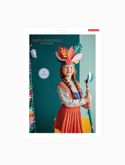 Studio Roof Party Headdress, Pop Out Leaves - Picture Play - The Modern Playroom