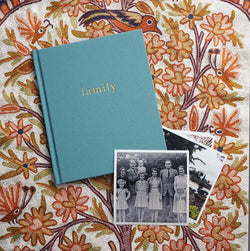 Write to me Family - Our Family Book -  - The Modern Playroom