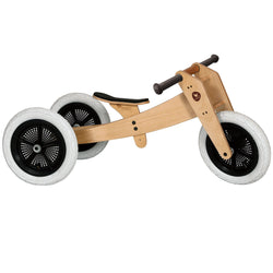 Wishbone Original 3in1 Natural Bike - Action Play - The Modern Playroom