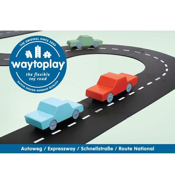 Way to Play Expressway Set 16 pcs - Picture Play - The Modern Playroom