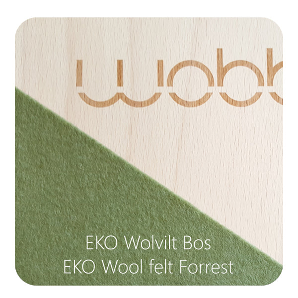 Wobbel Board Original with Forest Green Felt