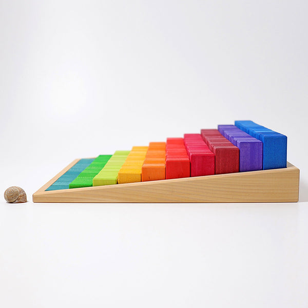 Large Stepped Counting Blocks