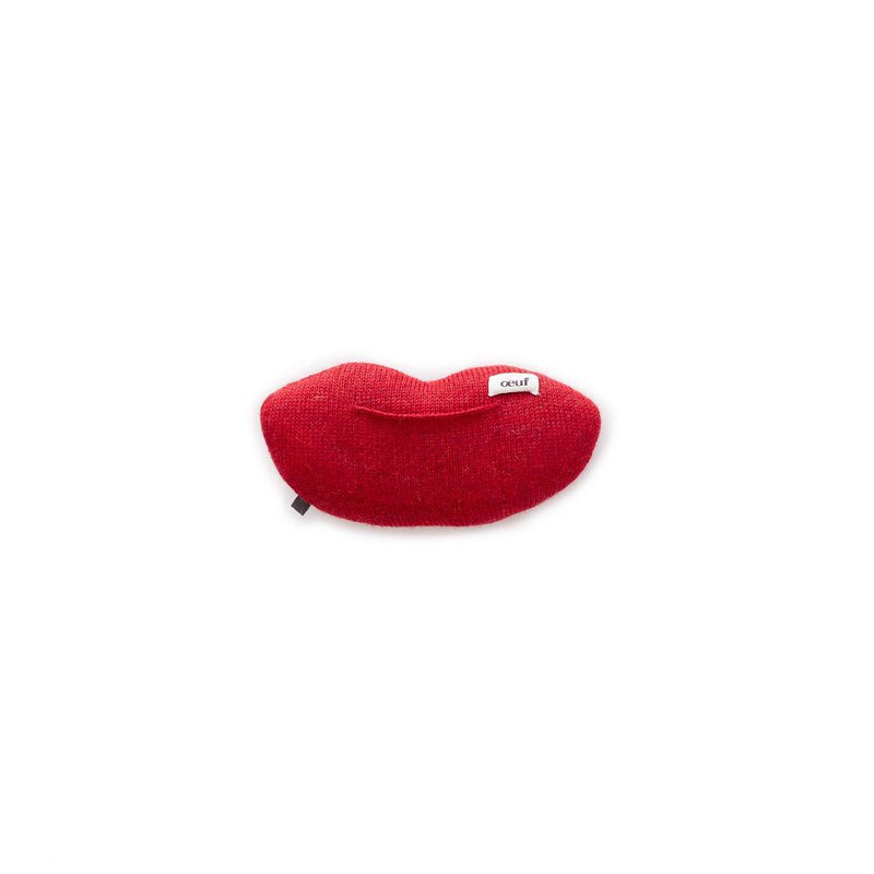 Mini Mouth Pillow-Red/Multi