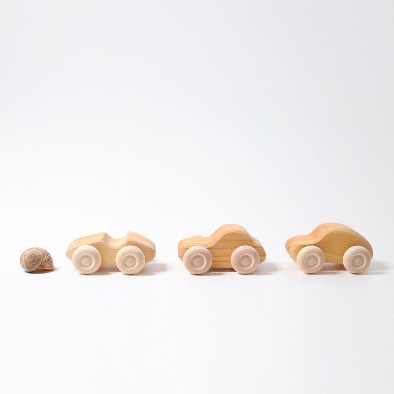Natural Wooden Cars