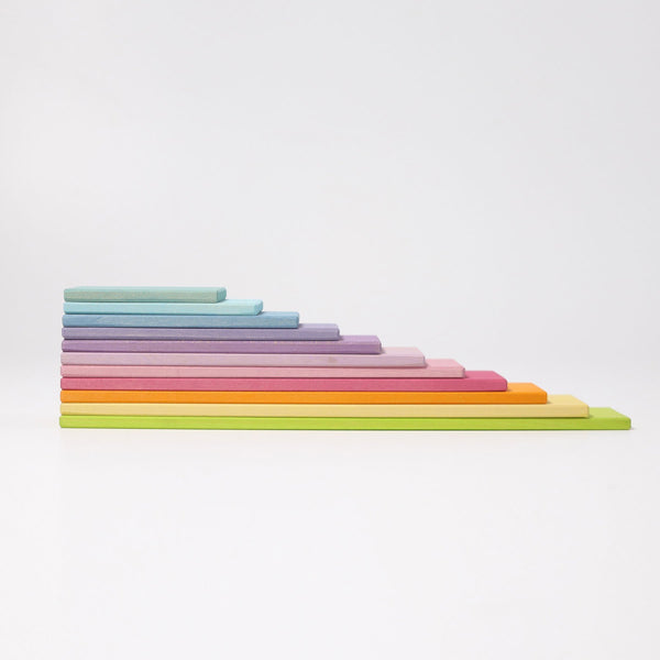 Pastel Building Boards