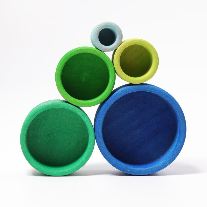 Set of Bowls Oceanblue