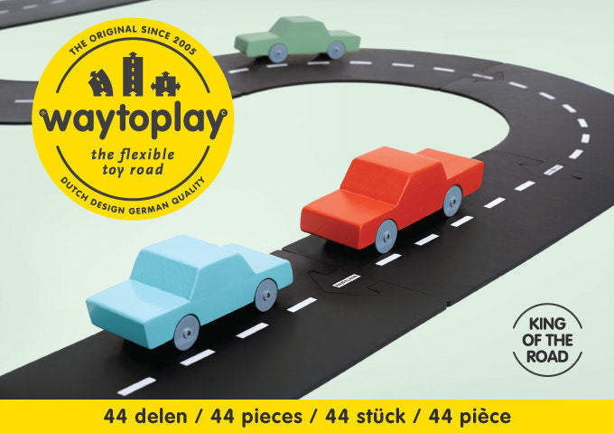 Way to Play King of the Road Set 44 pcs - Picture Play - The Modern Playroom