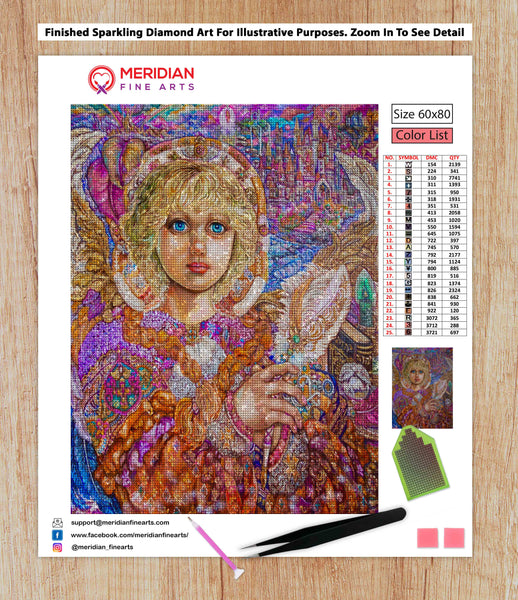Archangel Metatron - Diamond Art Kit