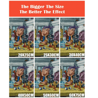 The bigger the size the better the image