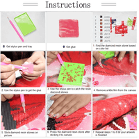 Diamond Painting instructions
