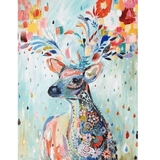 Abstract Deer - Diamond Art Kit