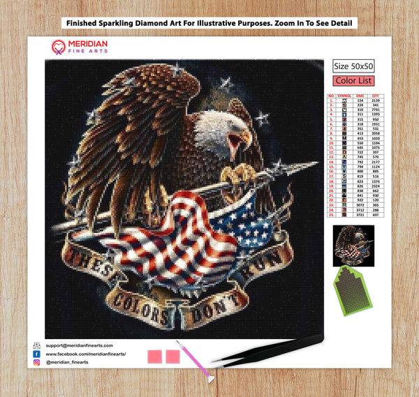 American Eagle - Diamond Art Kit